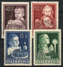 Oostenrijk, michel 929/32, o