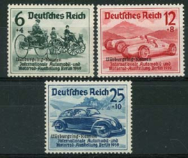 Duitse Rijk, michel 695/97, xx
