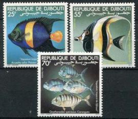 Djibouti, michel 296/98, xx