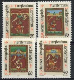 Liechtenstein, michel 930/33, xx