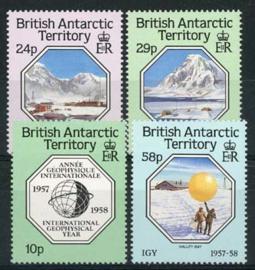 Br.Antarctic Terr., michel 144/47, xx