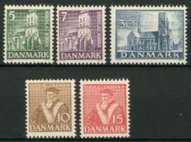 Denemarken, michel 228/32, xx