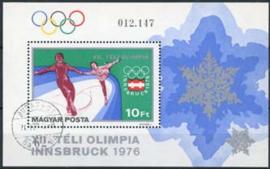 Hongarije, michel blok 116 A, o