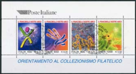 Italie, michel blok 19,o