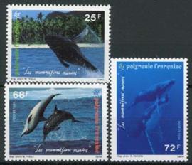 Polynesie, michel 650/52, xx