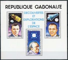 Gabon, michel blok 42, xx
