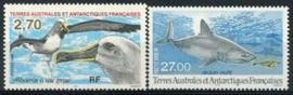 Antarctica Fr., michel 374/75, xx