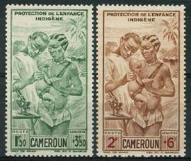 Cameroun, michel 245/46, xx