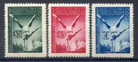 Joegoslavie, michel 524/26, xx