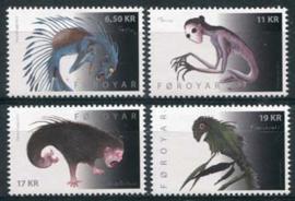 Faroer, michel 749/52, xx