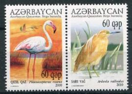 Azerbaidjan, michel 832/33, xx