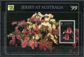 Jersey, michel blok 22, xx