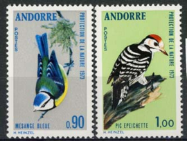 Andorra Fr., michel 253/54, xx