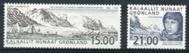 Groenland , michel 396/97 , xx