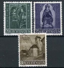 Liechtenstein, michelk 374/76, o