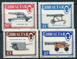 Gibraltar, michel 534/37, xx