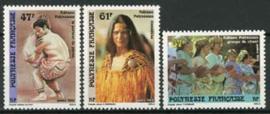 Polynesie, michel 532/34, xx