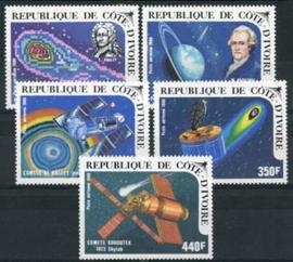 Ivoorkust, michel 888/92, xx
