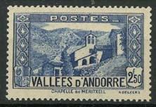 Andorra Fr., michel 74, x