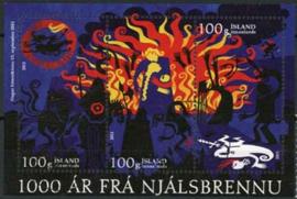 IJsland, michel blok 55, o