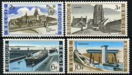 Belgie, obp 1466/69,xx