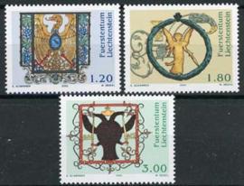 Liechtenstein, michel 1307/09, xx