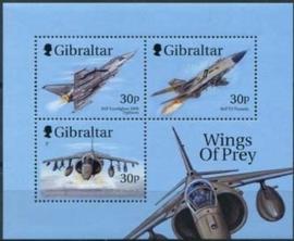 Gibraltar , michel blok 38 , xx