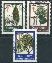 Finland, michel 657/59, o