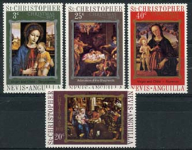 St.Christ., michel 245/48, xx