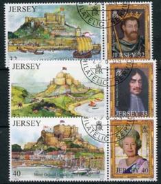 Jersey, michel 1137/42, o
