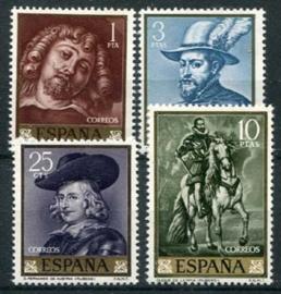 Spanje, michel 1322/25, xx