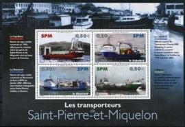 St.Pierre , michel blok 7, xx