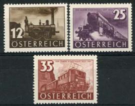 Oostenrijk, michel 646/48, xx