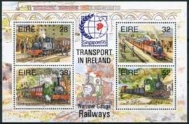 Ierland, michel blok 15 I, xx