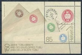 Zwitserland, michel blok 66, xx