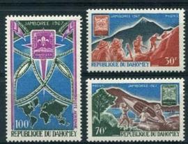 Dahomey, michel 321/23, xx