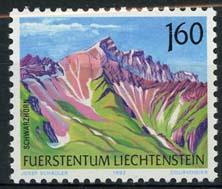 Liechtenstein, michel 1038, xx
