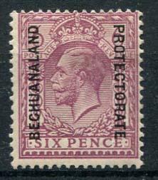 bechuanaland, michel 67, x