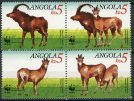 Angola, michel 779/82, xx