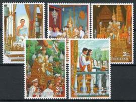 Thailand, michel 1700/04, xx