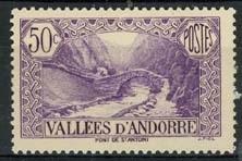 Andorra Fr., michel 61, x