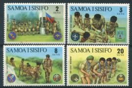 Samoa, michel 276/79, xx