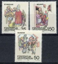 Liechtenstein, michel 1008/10, xx