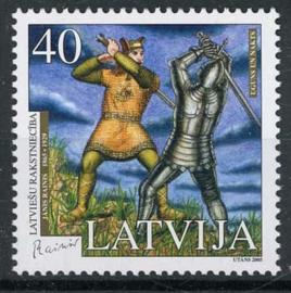 Letland, michel 643 A, xx