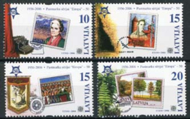 Letland, michel 656/59, xx