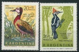 Argentinie, michel 1034/35, xx