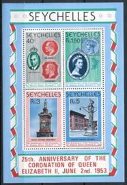 Seychelles, michel blok 10, xx