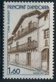 Andorra Fr., michel 347, xx