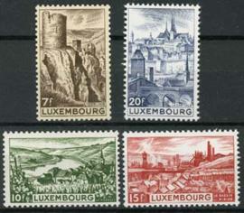 Luxemburg, michel 431/34, xx