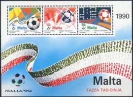 Malta , michel blok 11 , xx
